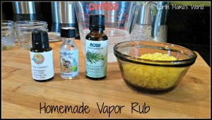 Homemade Natural Vapor Rub (Ditch the Vicks!)
