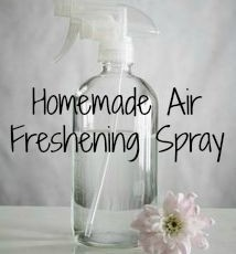 Homemade Air Freshening Spray