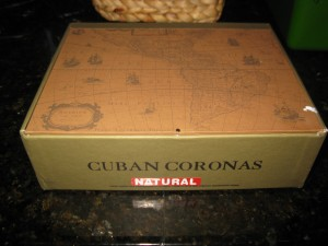 cigar box...we are so lucky to have a bunch of these!
