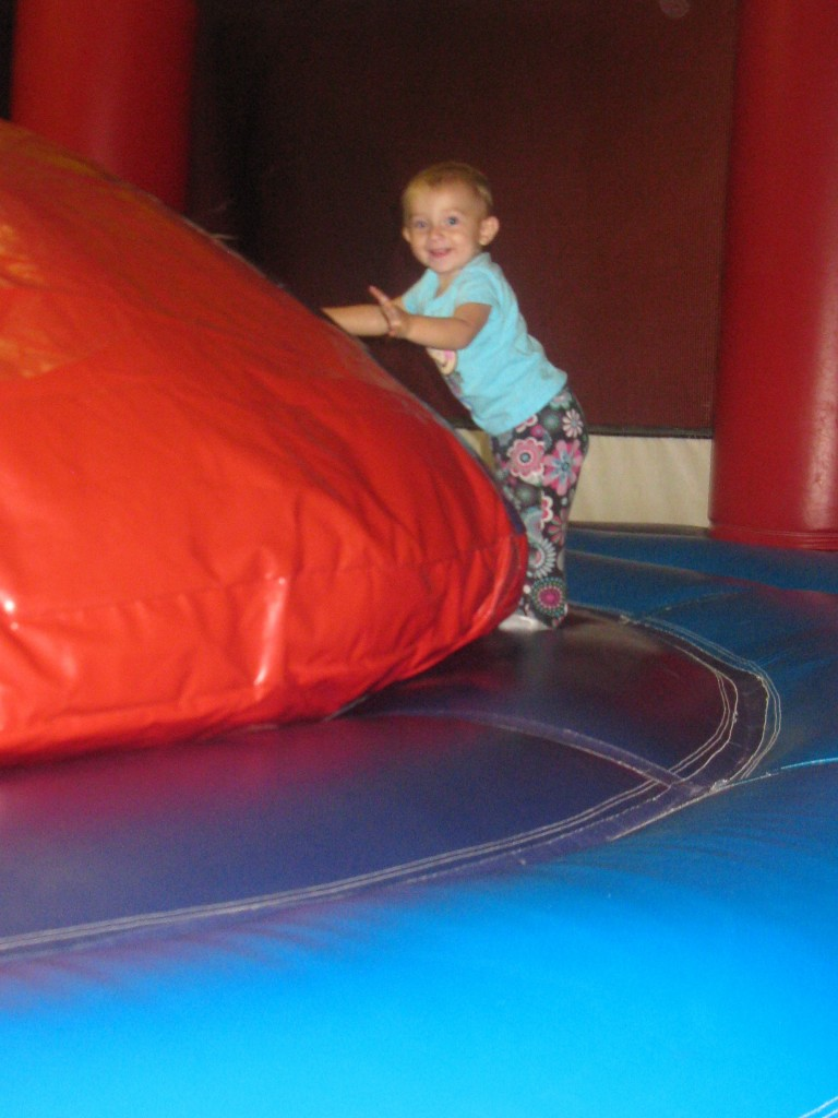 Jumping fun @ Pump It Up: Earth Mama's World