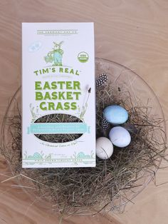 Real Easter Basket Grass