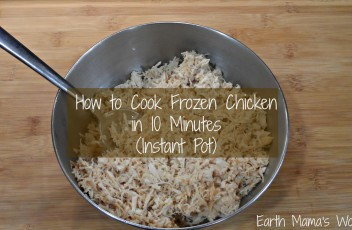 How to Cook Frozen Chicken in 10 Minutes (Instant Pot)