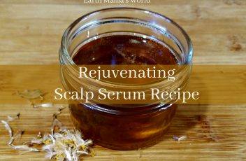 Rejuvenating Scalp Serum Recipe