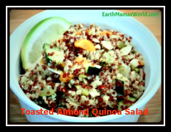 Toasted Almond Quinoa Salad