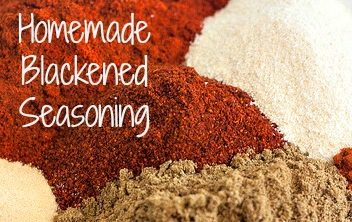 Homemade Blackened Seasoning