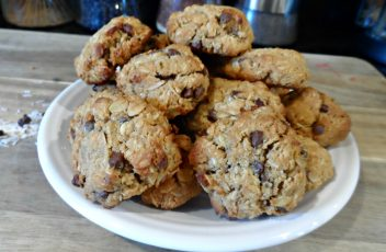 Gluten-Free Almond Joy Oatmeal Cookies