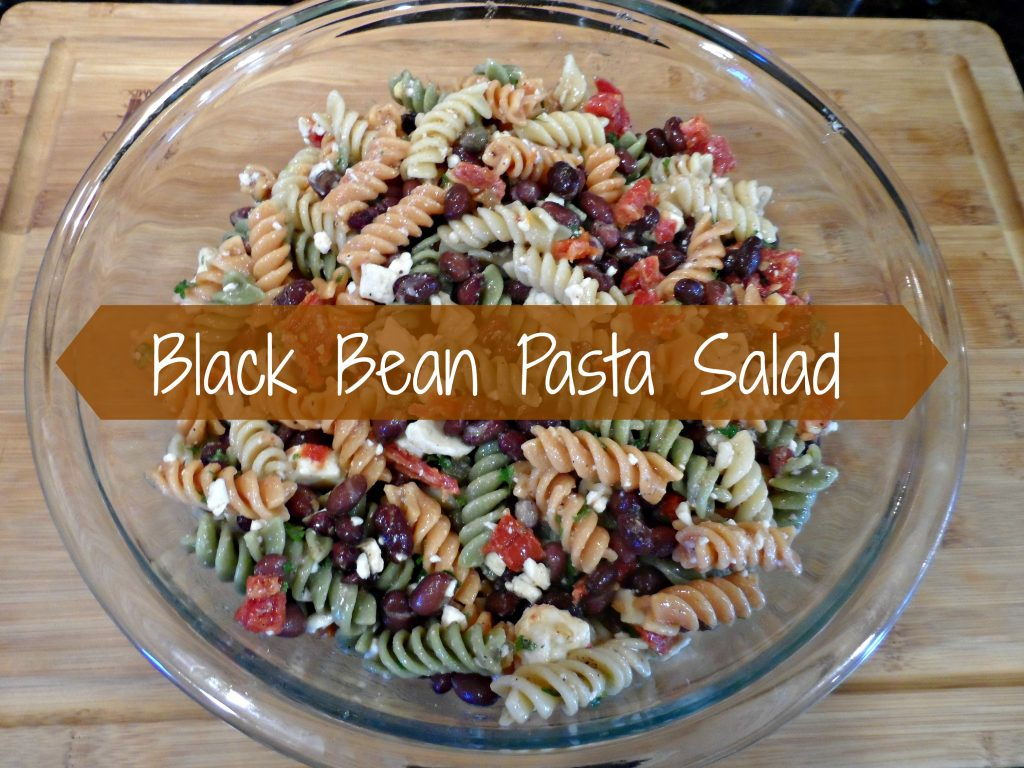 Black Bean Pasta Salad