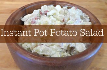 Instant Pot Potato Salad:  Quick & Delicious!